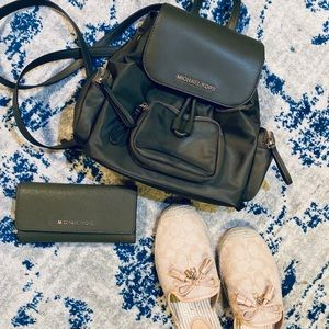 Michael Kors Olive Backpack